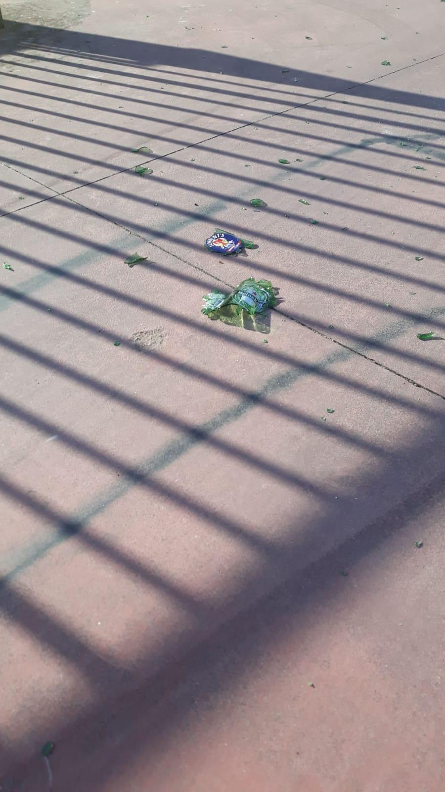 Modica, ragazzini-vandali al parcheggio di Viale Medaglie d'Oro