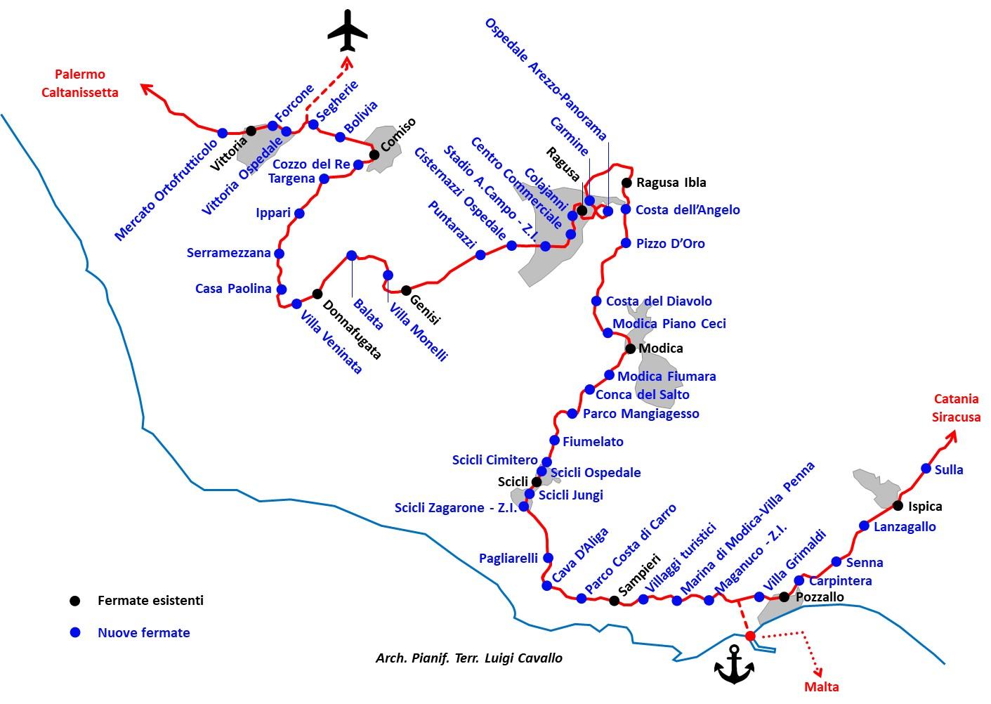 Cartina Geografica Sicilia Sud Orientale.Una Metropolitana Territoriale Per Il Sud Est Della Sicilia Radio Rtm Modica